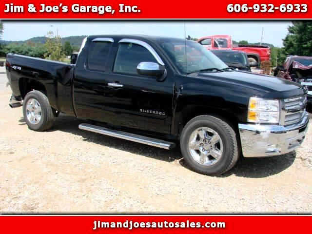 Chevrolet Silverado 1500 LT Ext. Cab 4-Door Short Bed 4WD 2012