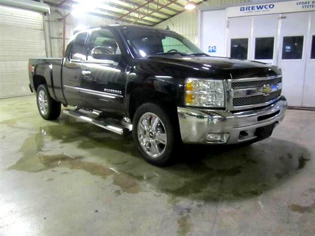 2013 Chevrolet Silverado 1500 LT Ext. Cab 4-Door Short Bed 4WD