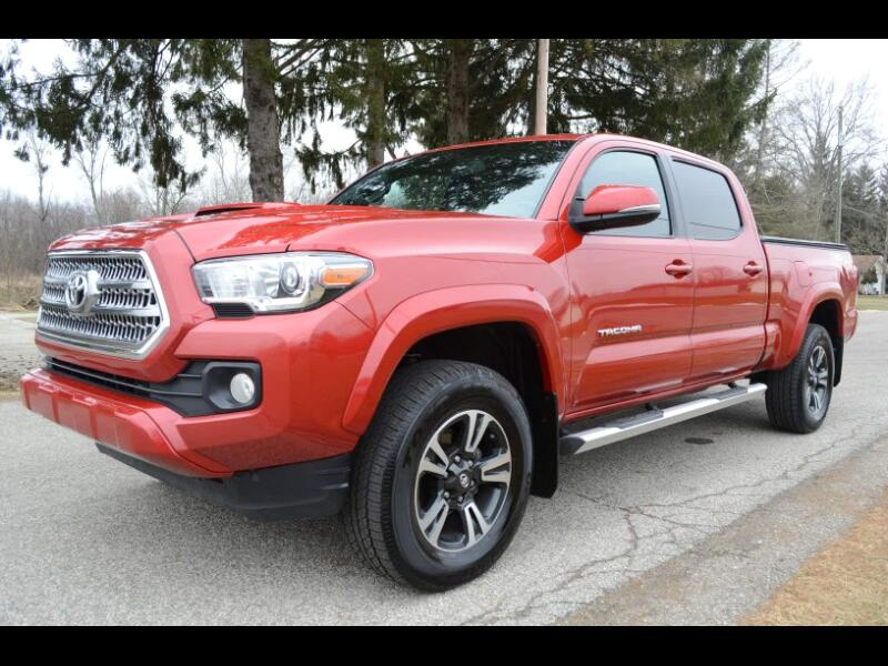 2017 Toyota Tacoma SR5 Double Cab Long Bed TRD Sport