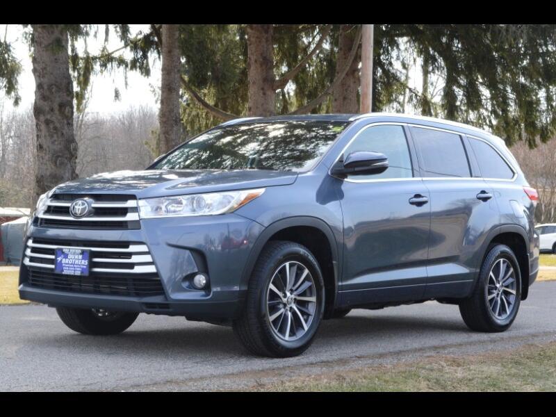 Toyota Highlander XLE AWD V6 2018