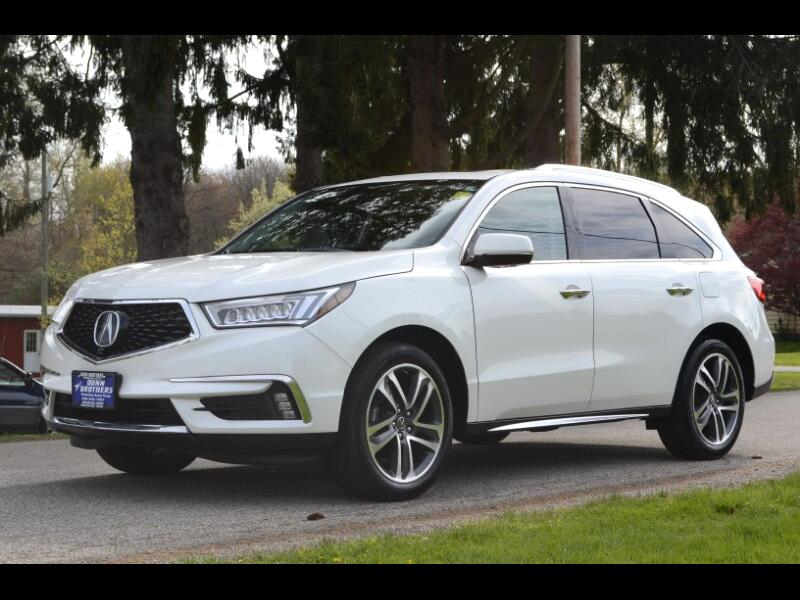Acura MDX 9-Spd AT SH-AWD w/Advance and Entertainment 2018