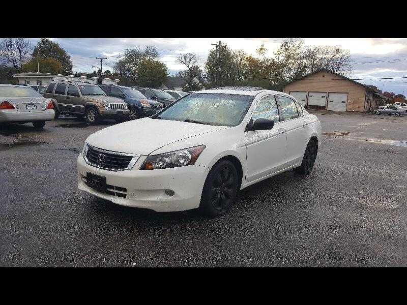 2008 Honda Accord Sdn EXL