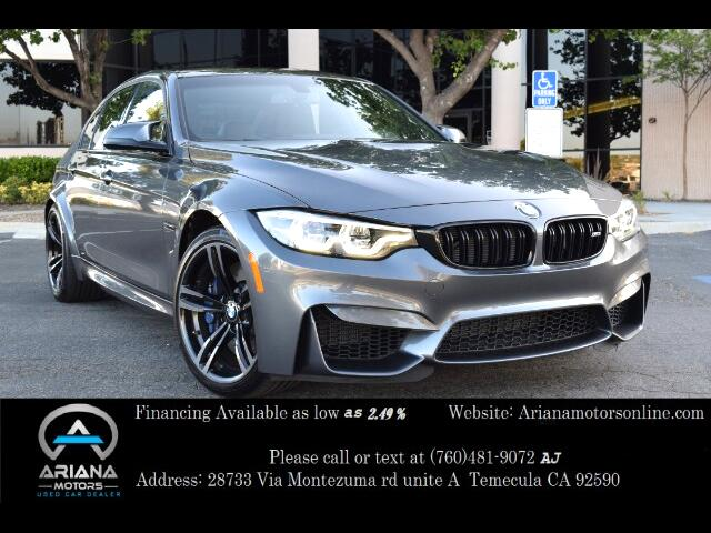 2018 BMW M3 4dr Sdn