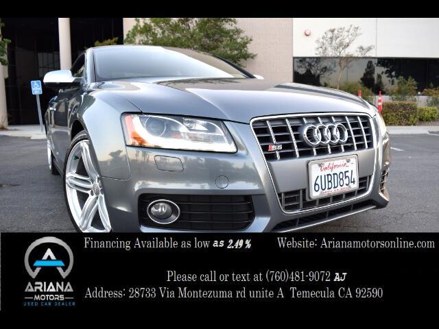 2012 Audi S5 4.2 Coupe quattro Tiptronic