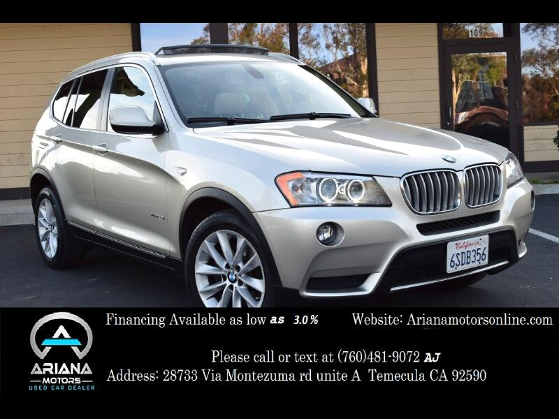used 2011 bmw x3 xdrive28i for sale in temecula ca 92590. Black Bedroom Furniture Sets. Home Design Ideas