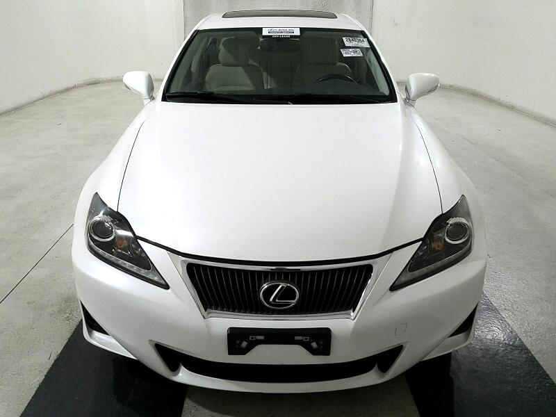 2012 Lexus IS 250 4dr Sport Sdn Auto RWD