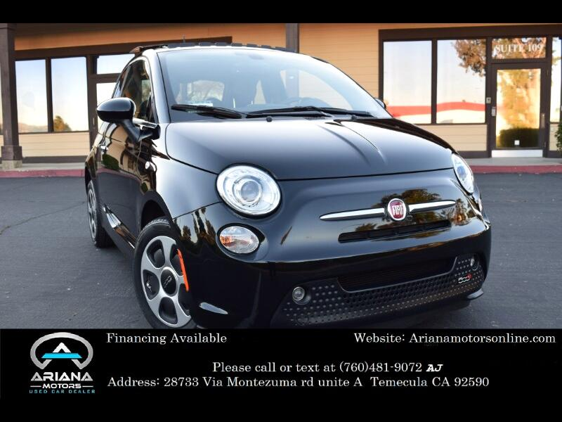 2016 Fiat 500e 2dr HB BATTERY ELECTRIC