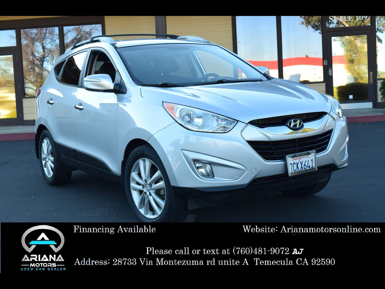 2013 Hyundai Tucson Limited 2WD