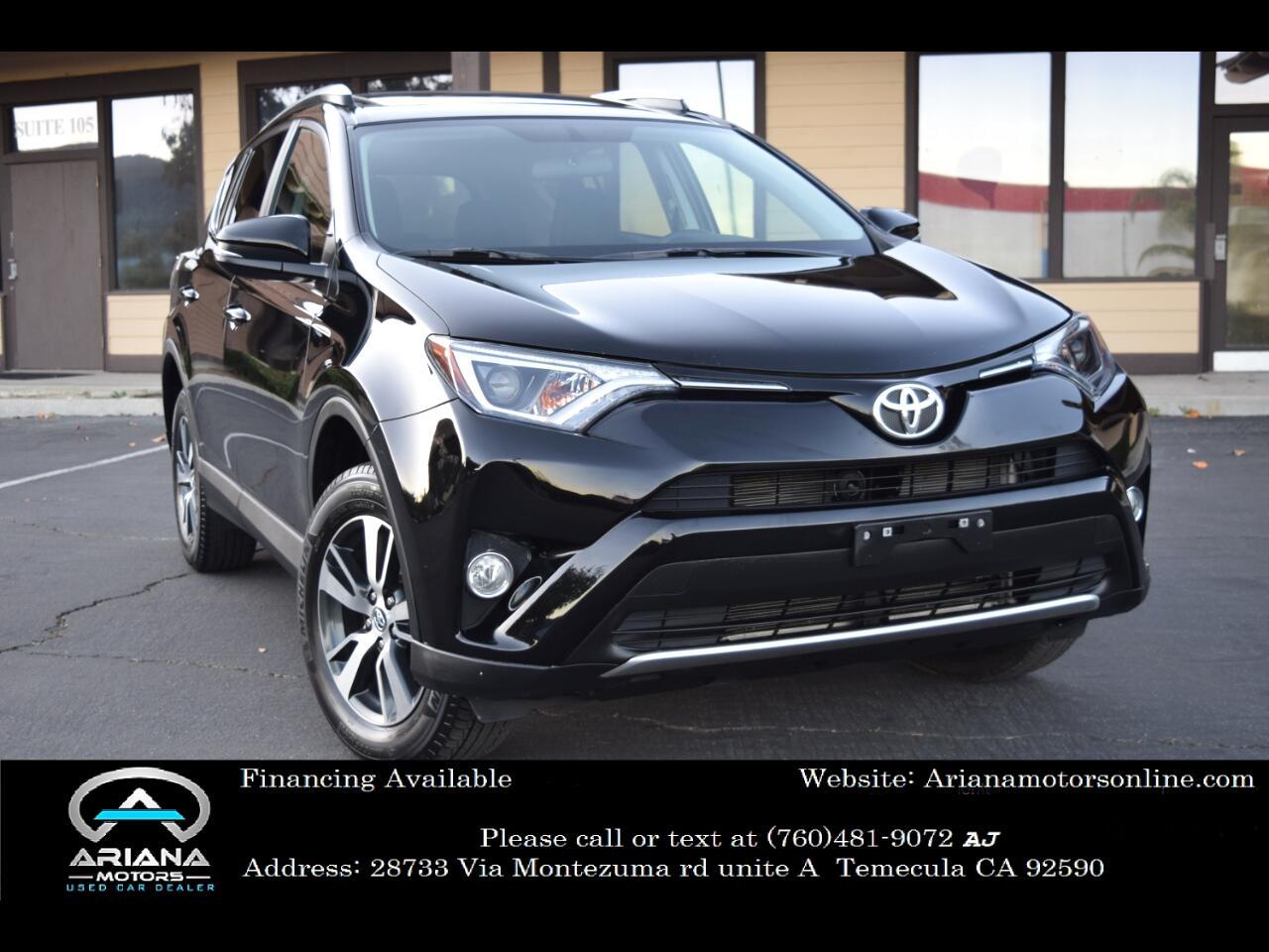Toyota RAV4 XLE FWD 2016