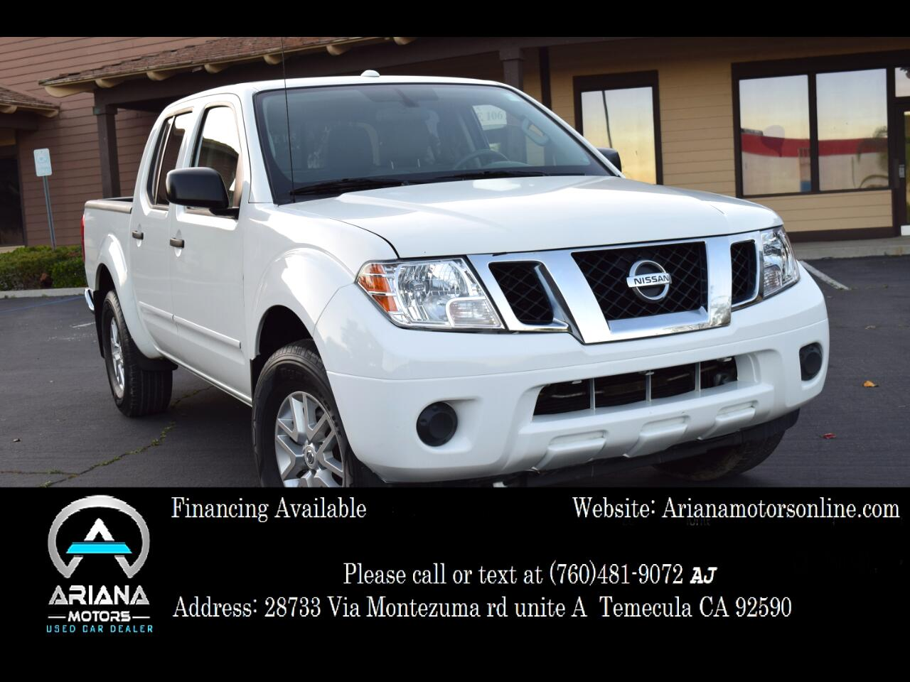 Nissan Frontier PRO-4X Crew Cab 5AT 4WD 2017