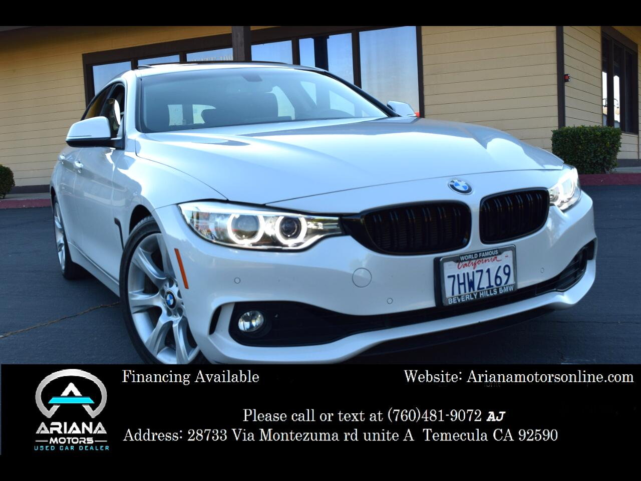 BMW 4-Series Gran Coupe 428i 2015
