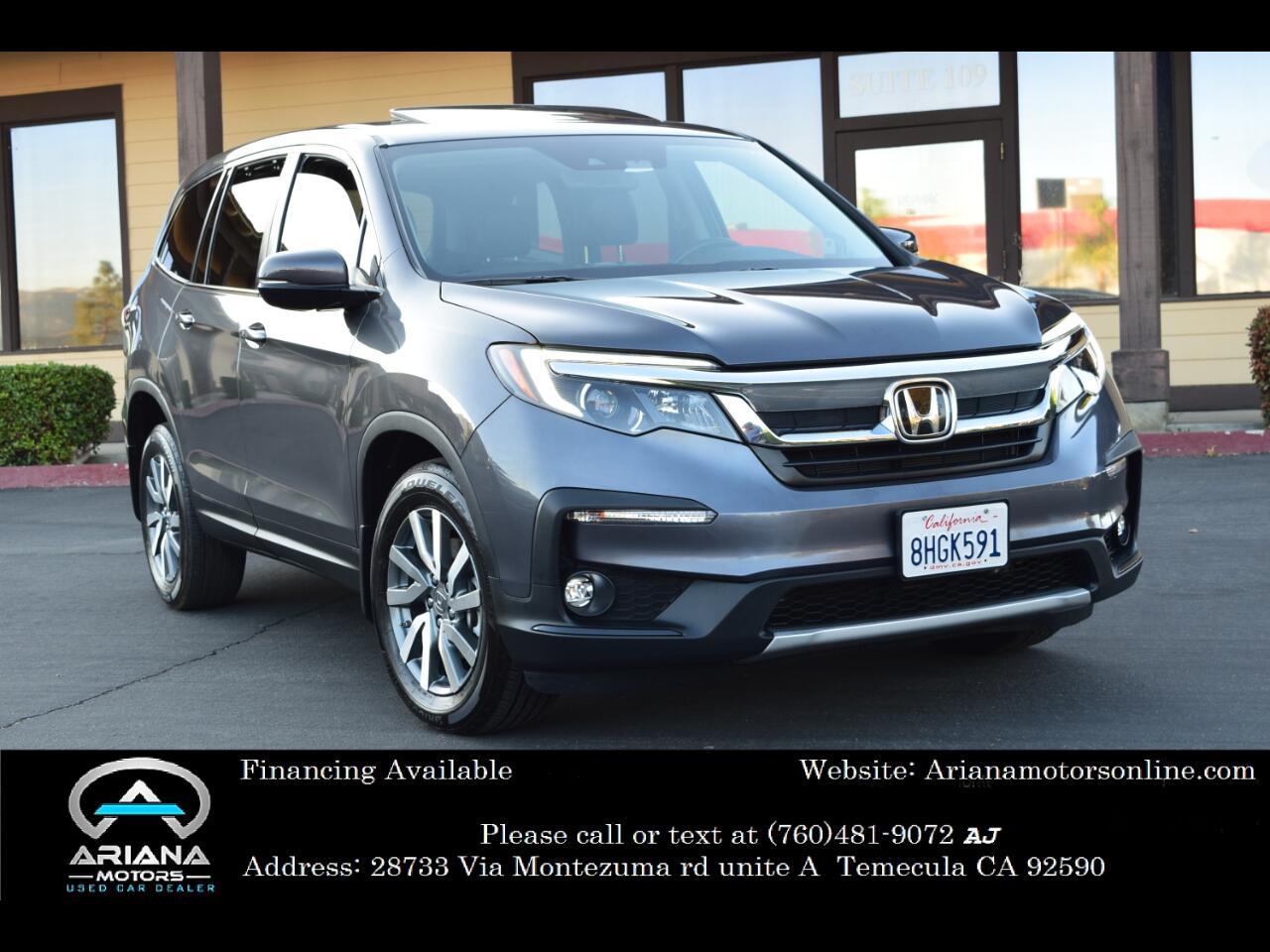 Honda Pilot EX-L w/Navigation and RES 2019