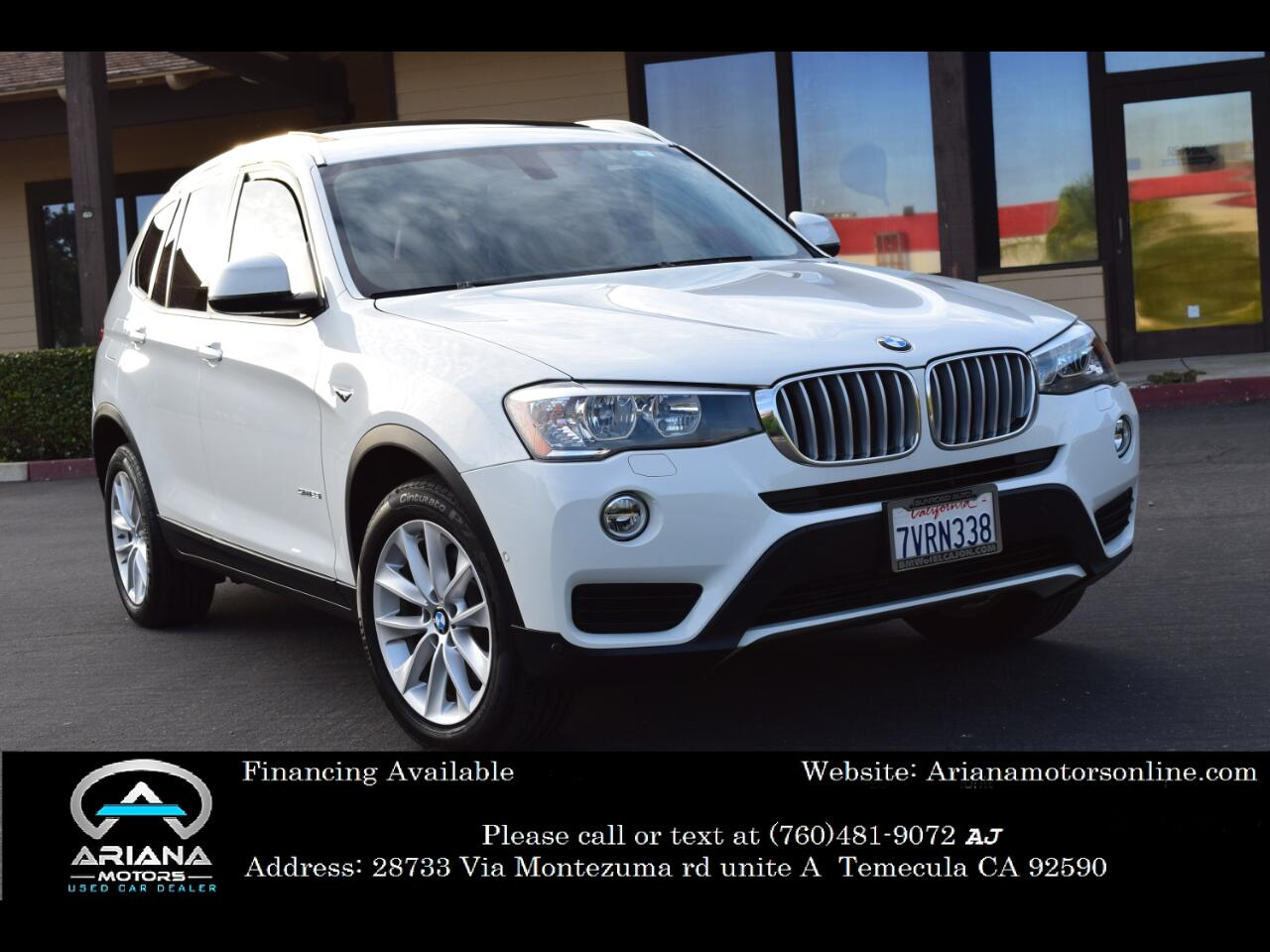BMW X3 sDrive28i 2017