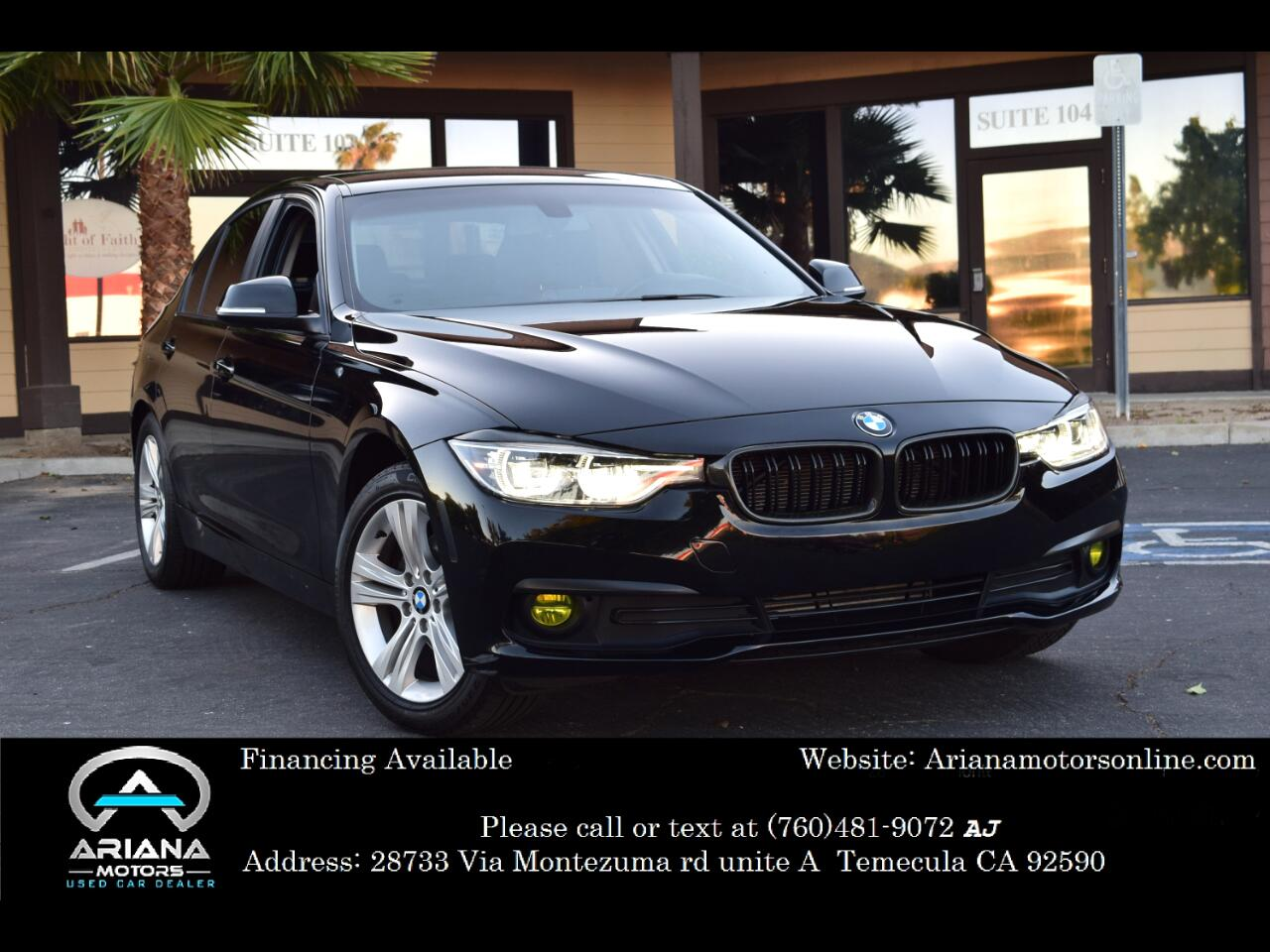 BMW 3-Series 320i Sedan 2018