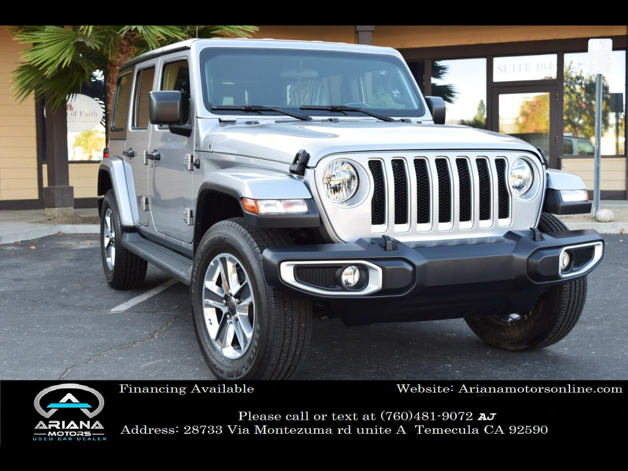 2020 Jeep Wrangler Unlimited North Edition