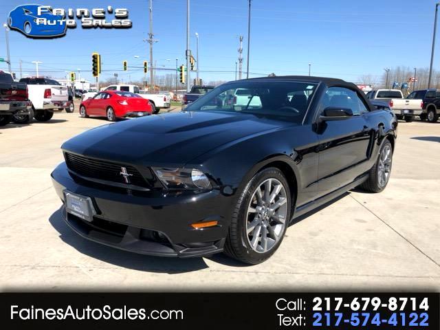 2012 Ford Mustang GT Premium Convertible