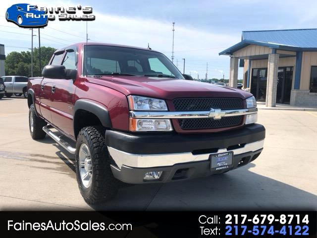 2004 Chevrolet Silverado 2500HD Crew Cab Short Bed 4WD