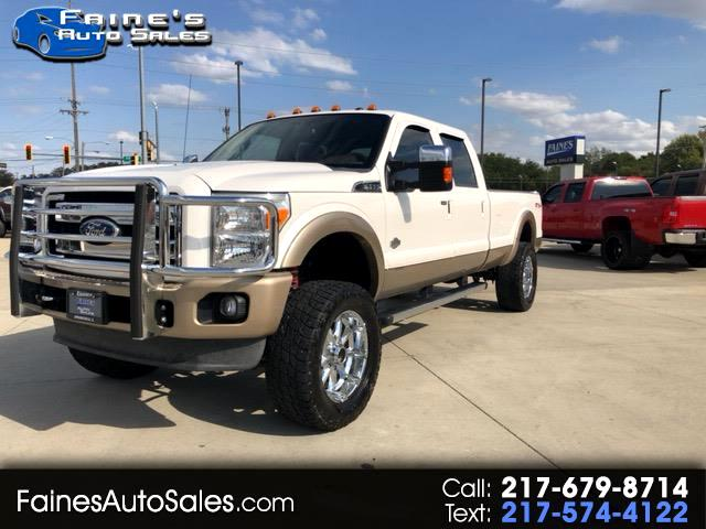 2011 Ford F-350 SD King Ranch Crew Cab Long Bed 4WD