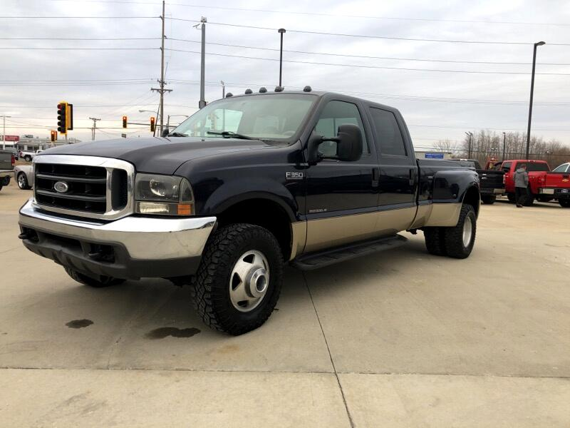 2000 Ford F-350 SD Lariat Crew Cab Short Bed 4WD DRW