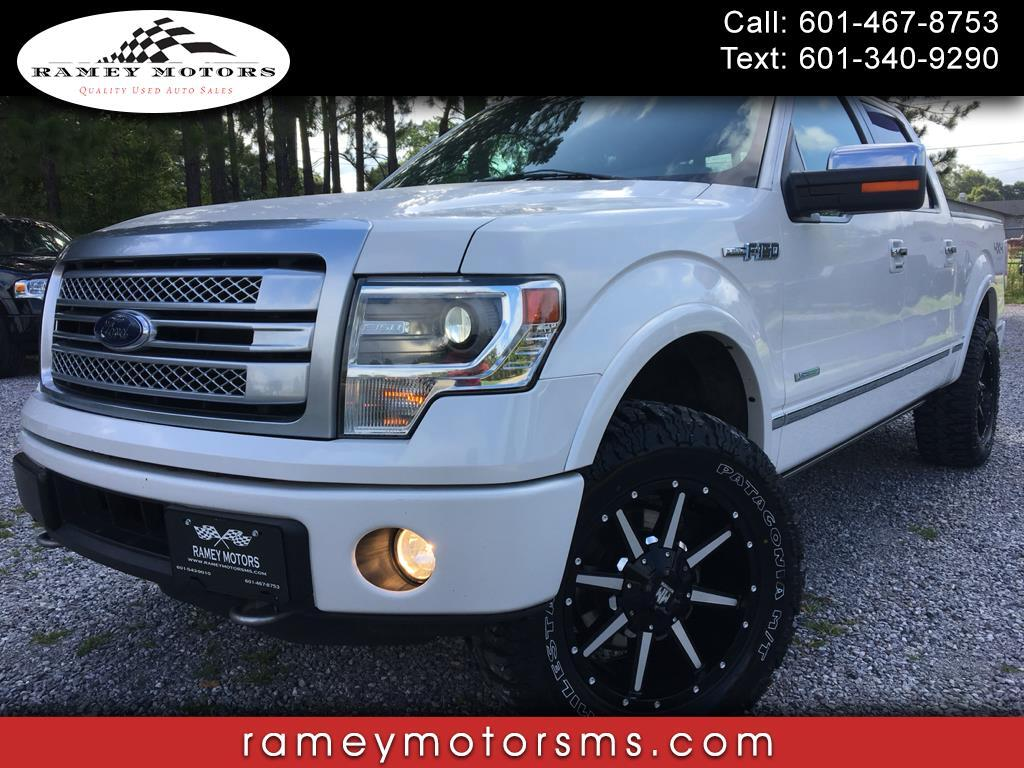 "2014 Ford F-150 4WD SuperCrew 157"" Platinum"