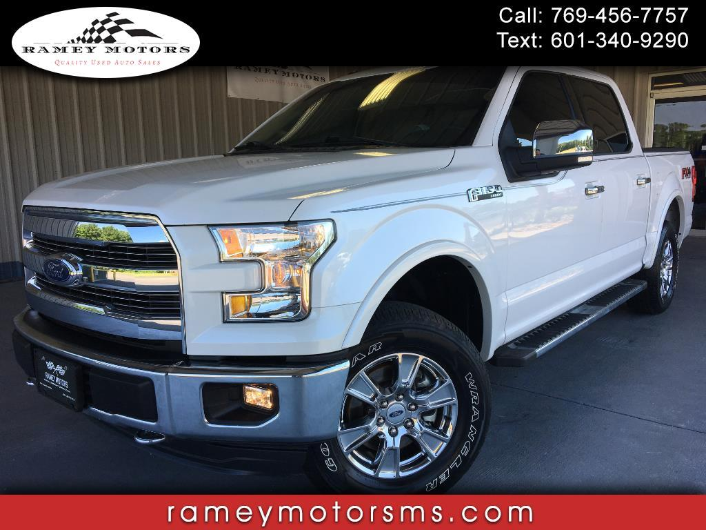 "2016 Ford F-150 4WD SuperCrew 139"" Lariat"