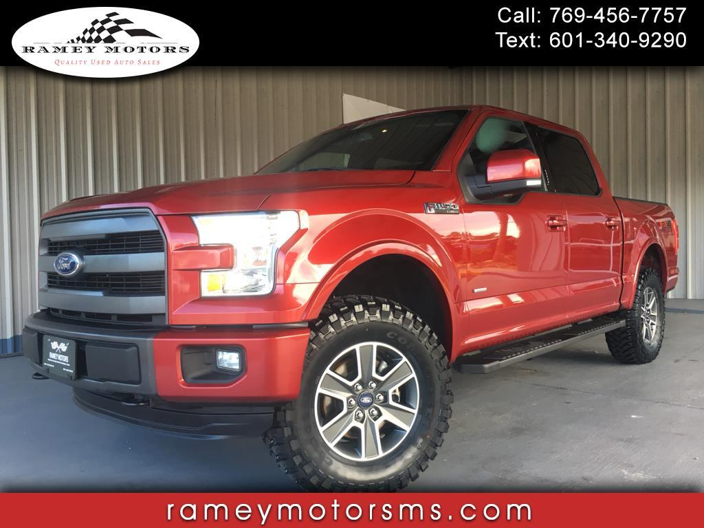 2015 Ford F-150 4WD CREWCAB ULTIMATE LARIAT CUSTOM LEVELED