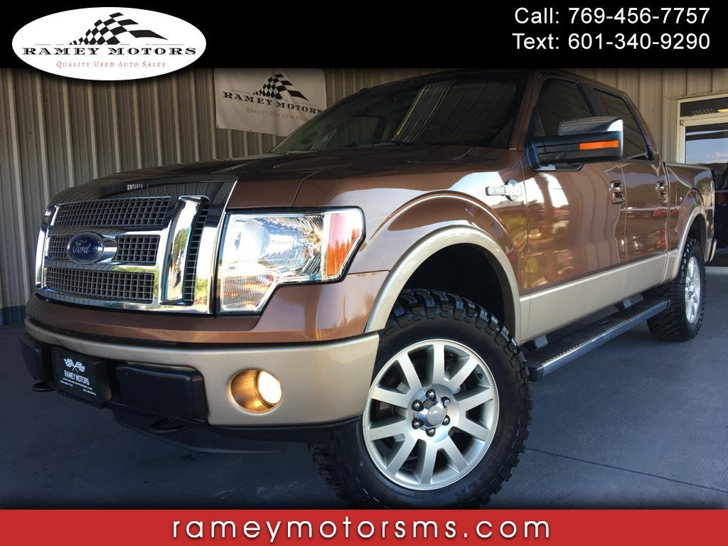 "2012 Ford F-150 4WD SuperCrew 139"" King Ranch"