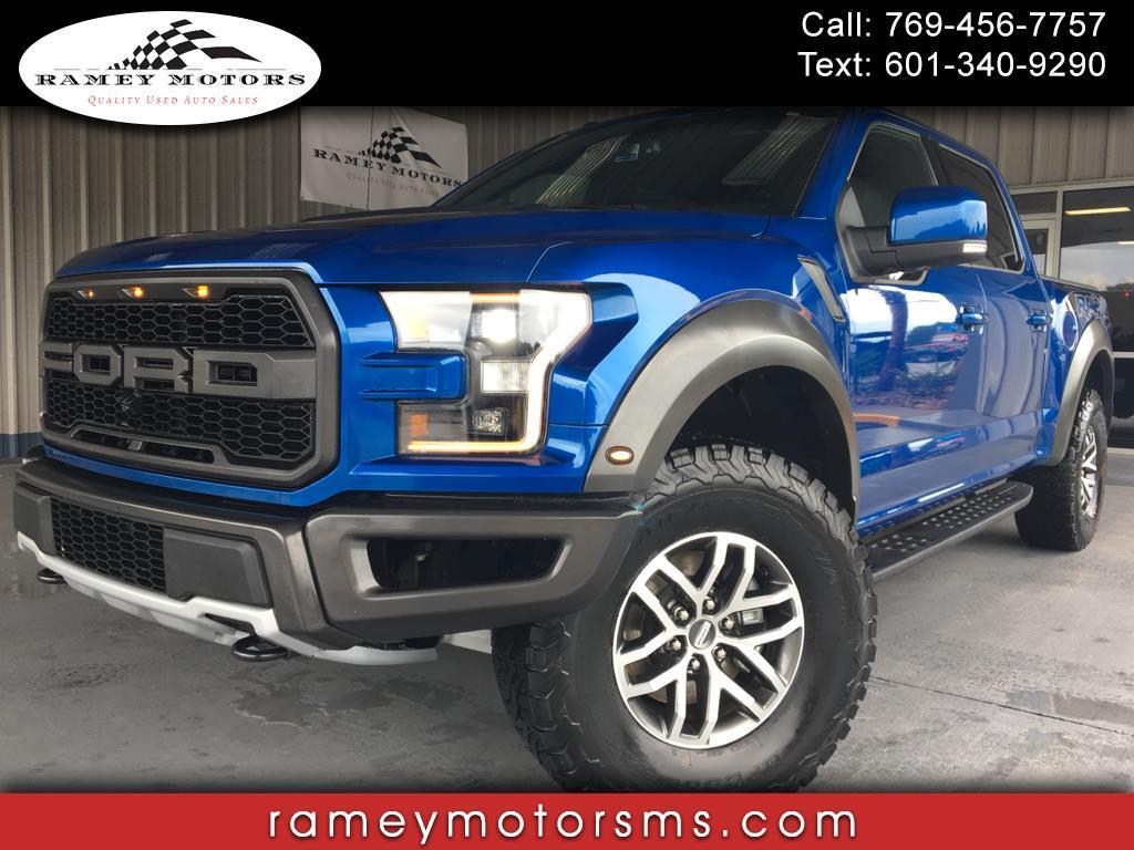 2017 Ford F-150 4WD RAPTOR CREWCAB APPEARANCE PACKAGE