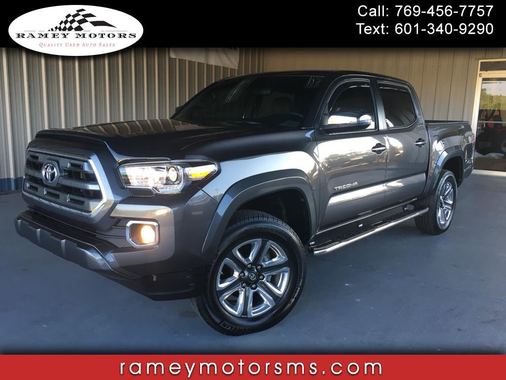 2017 Toyota Tacoma 4WD DOUBLECAB LIMITED