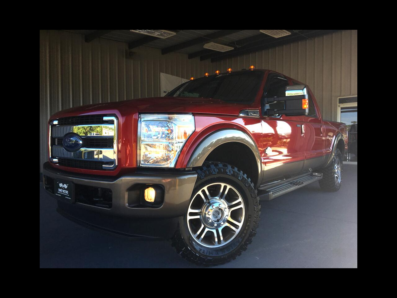 2015 Ford Super Duty F-250 SRW 4WD KING RANCH CREWCAB SHORTBED