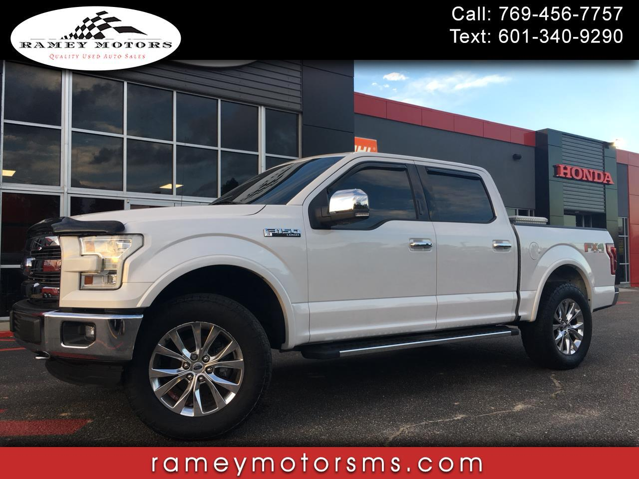 2015 Ford F-150 4WD LARIAT ULTIMATE CUSTOM LEVELED