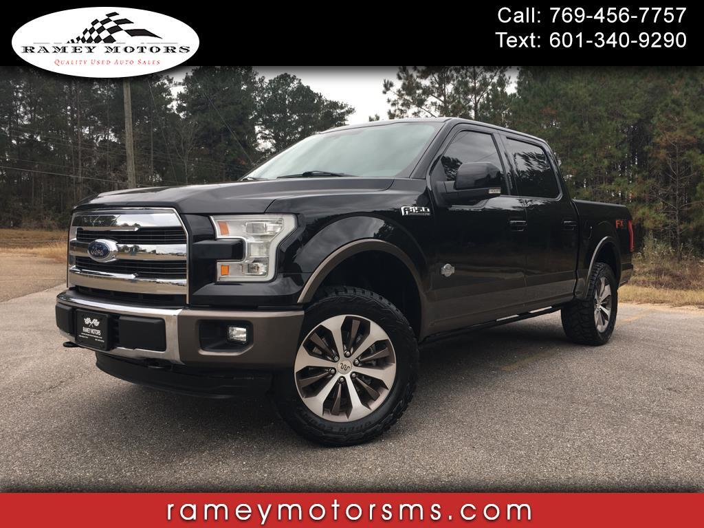 2016 Ford F-150 4WD CREW CAB KING RANCH