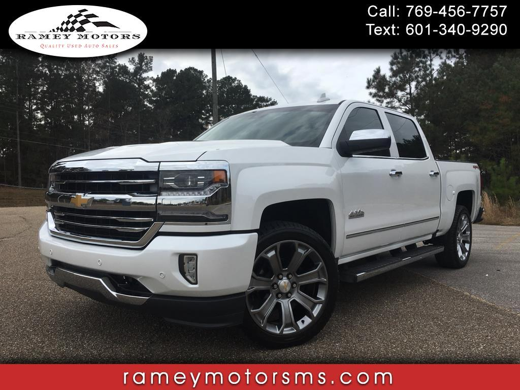 2017 Chevrolet Silverado 1500 4WD CREWCAB HIGH COUNTRY