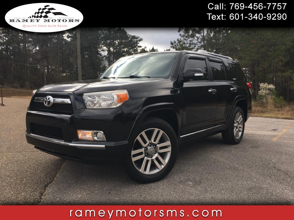 2013 Toyota 4Runner 4WD LIMITED