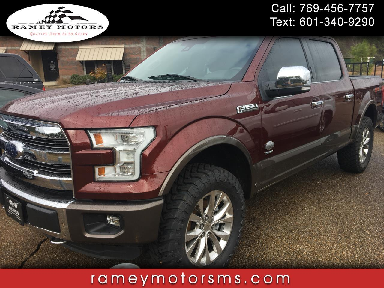 2016 Ford F-150 4WD CREWCAB KING RANCH