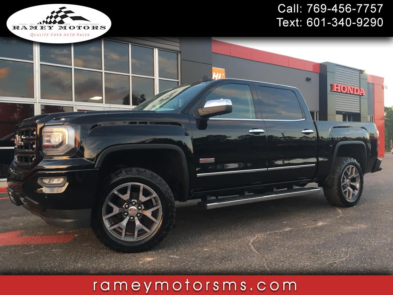 2016 GMC Sierra 1500 4WD CREW CAB ALL TERRAIN EDITION