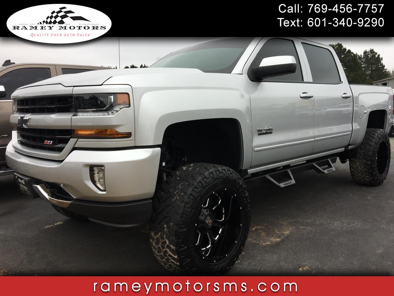 2017 Chevrolet Silverado 1500 4WD CREWCAB 2LT CUSTOM LIFTED