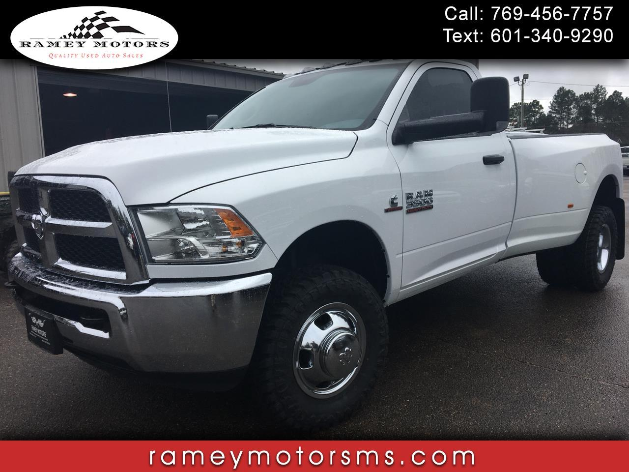 2018 RAM 3500 TRADESMAN DIESEL CUSTOM LEVELED