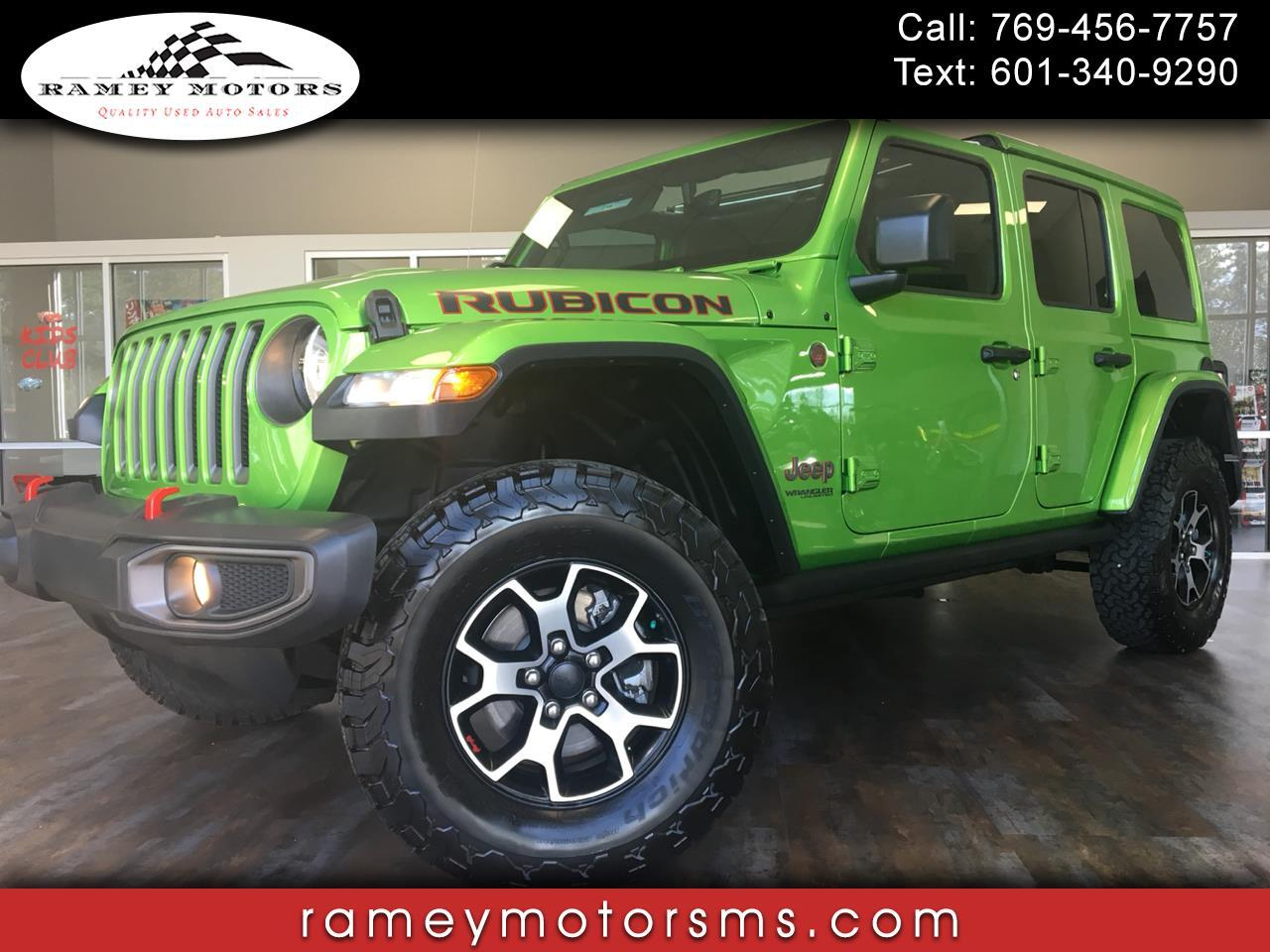 2018 Jeep Wrangler RUBICON 4X4 SPECIAL EDITION