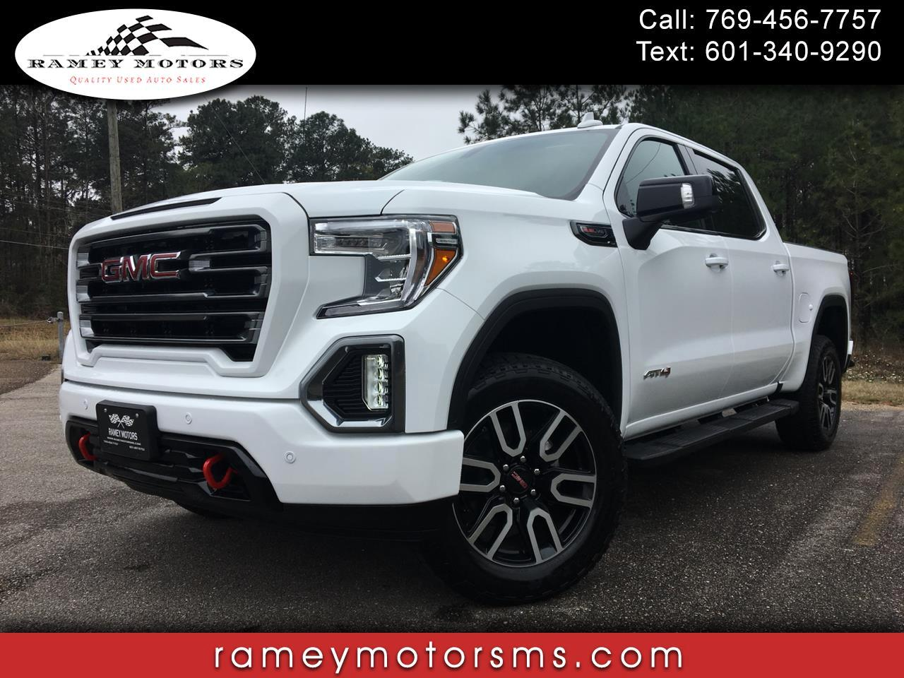 2019 GMC Sierra 1500 4WD CREWCAB AT4 EDITION