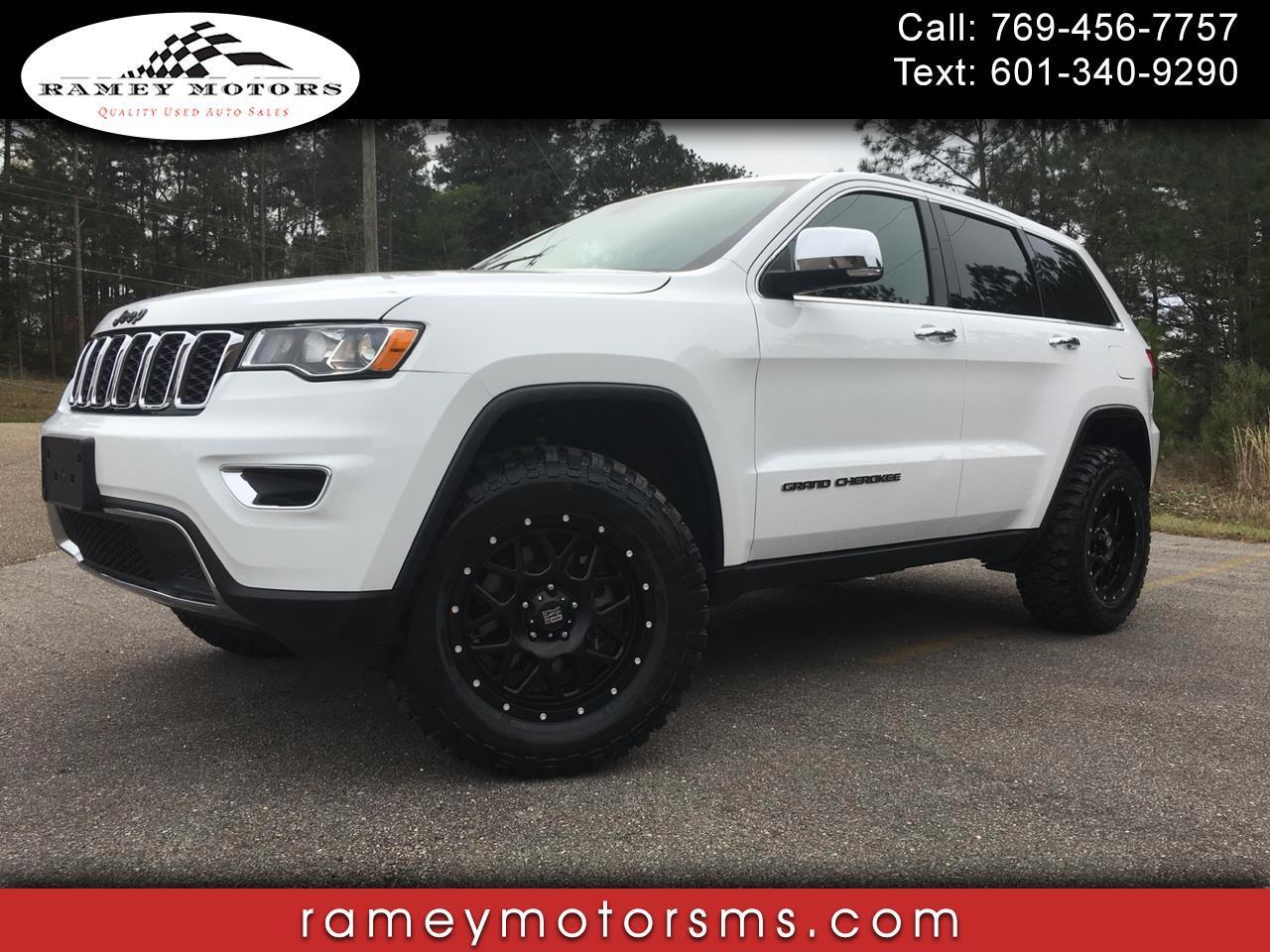 2018 Jeep Grand Cherokee 4WD CUSTOM LIFTED LIMITED