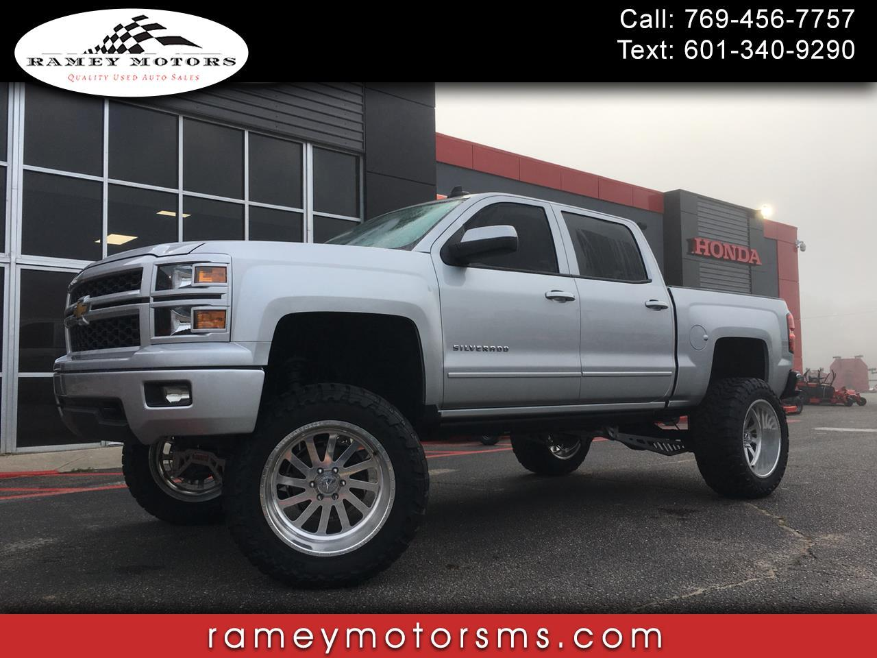 2015 Chevrolet Silverado 1500 4WD CREWCAB CUSTOM LIFTED LT Z71