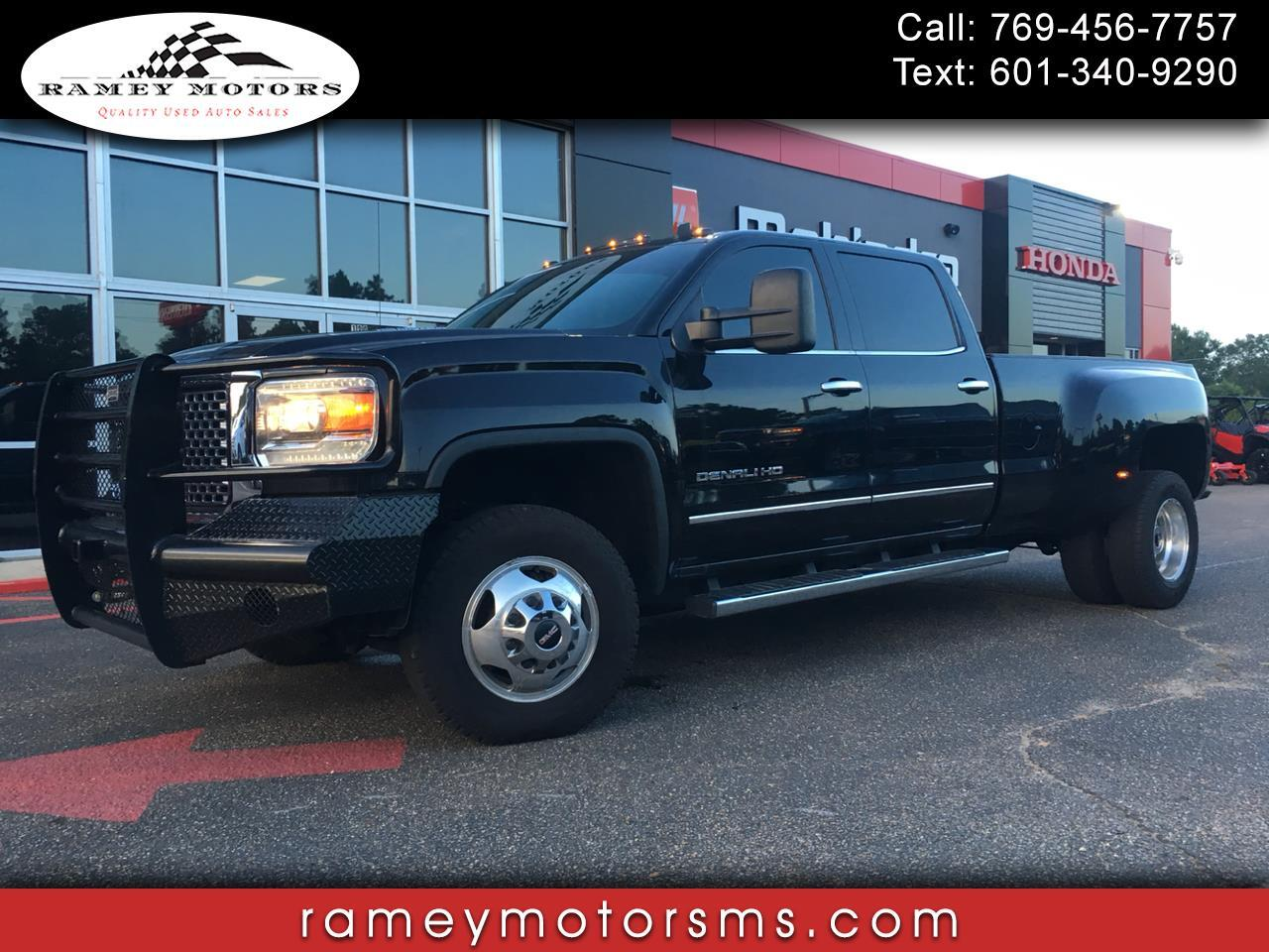 2015 GMC Sierra 3500HD available WiFi 4WD CREWCAB DENALI