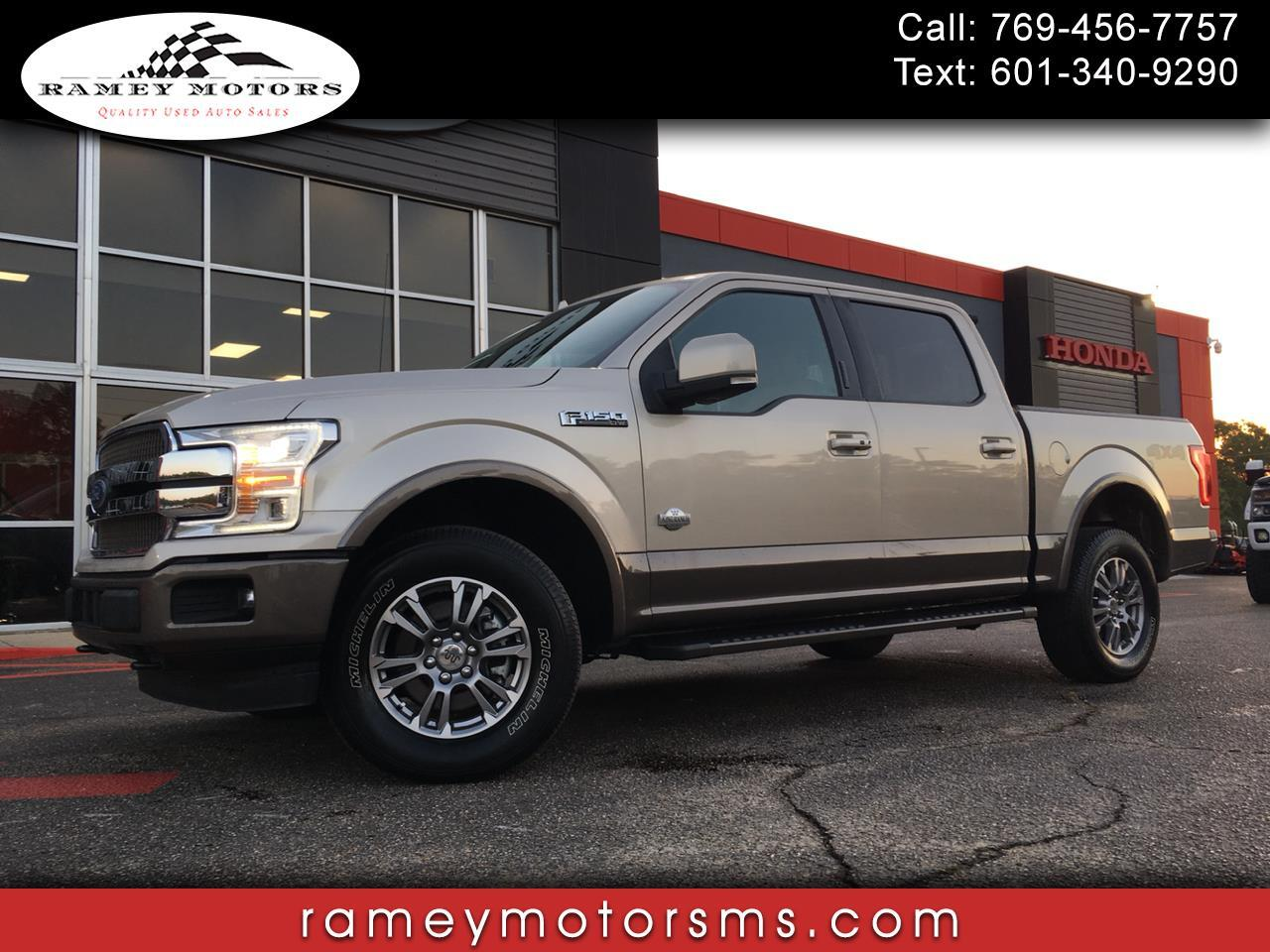 2018 Ford F-150 4WD CREWCAB KING RANCH ULTIMATE