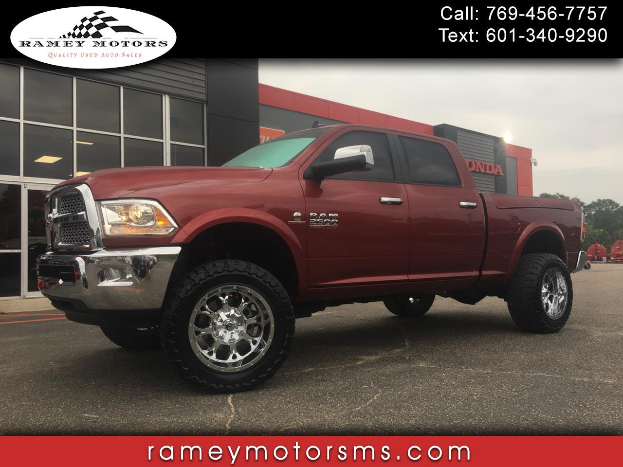 2015 RAM 2500 4WD CREWCAB LARAMIE CUSTOM LIFTED DPF DELETED