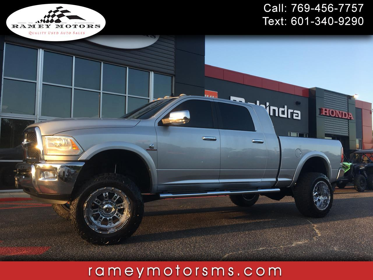 2014 RAM 2500 4WD CREWCAB LARAMIE CUSTOM LIFTED