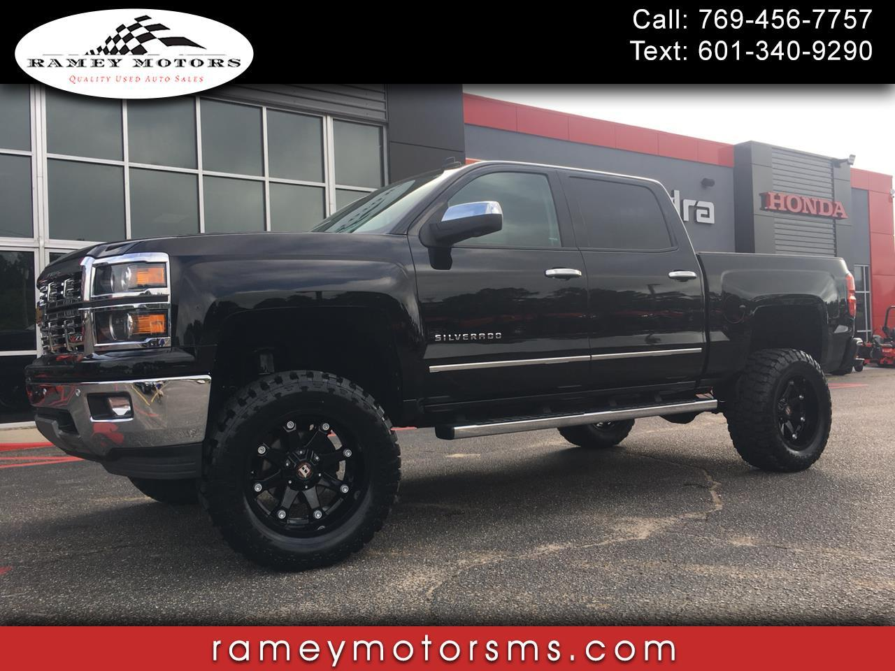 2014 Chevrolet Silverado 1500 4WD CREWCAB LTZ CUSTOM LIFTED