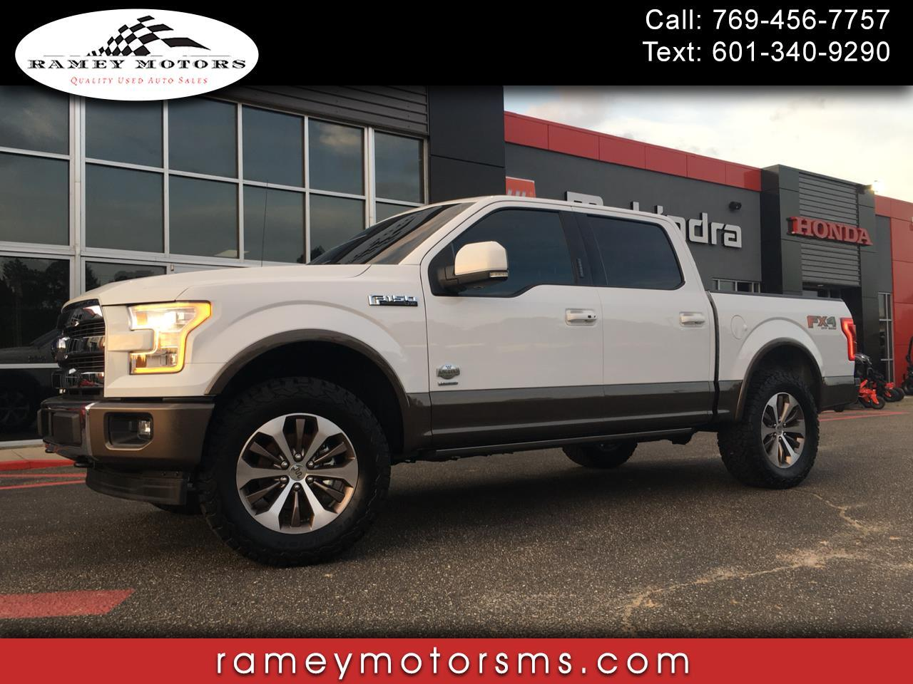 2017 Ford F-150 4WD CREWCAB KING RANCH