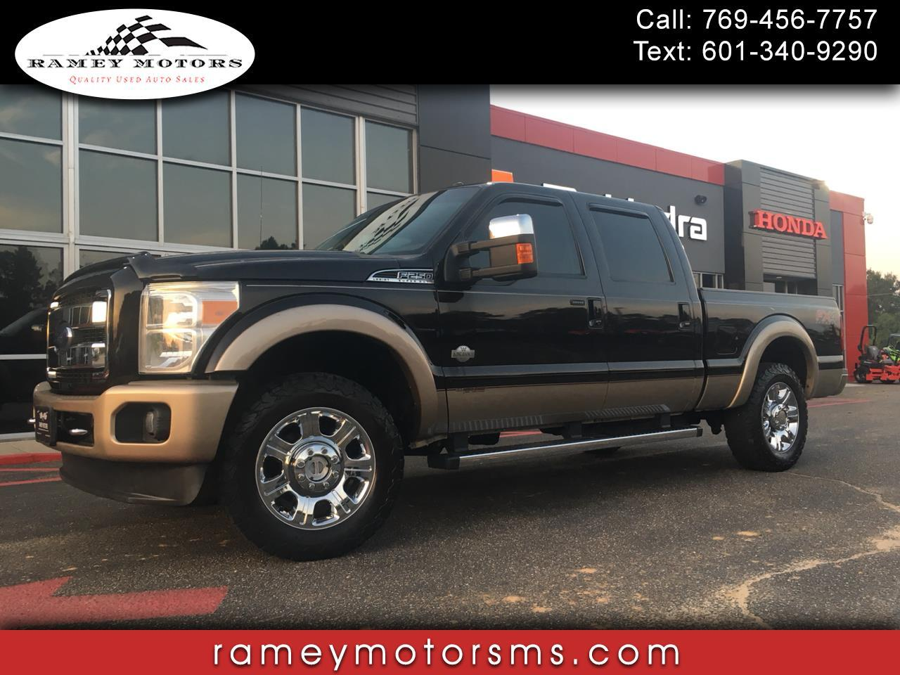 2013 Ford F250 4WD CREWCAB KING RANCH