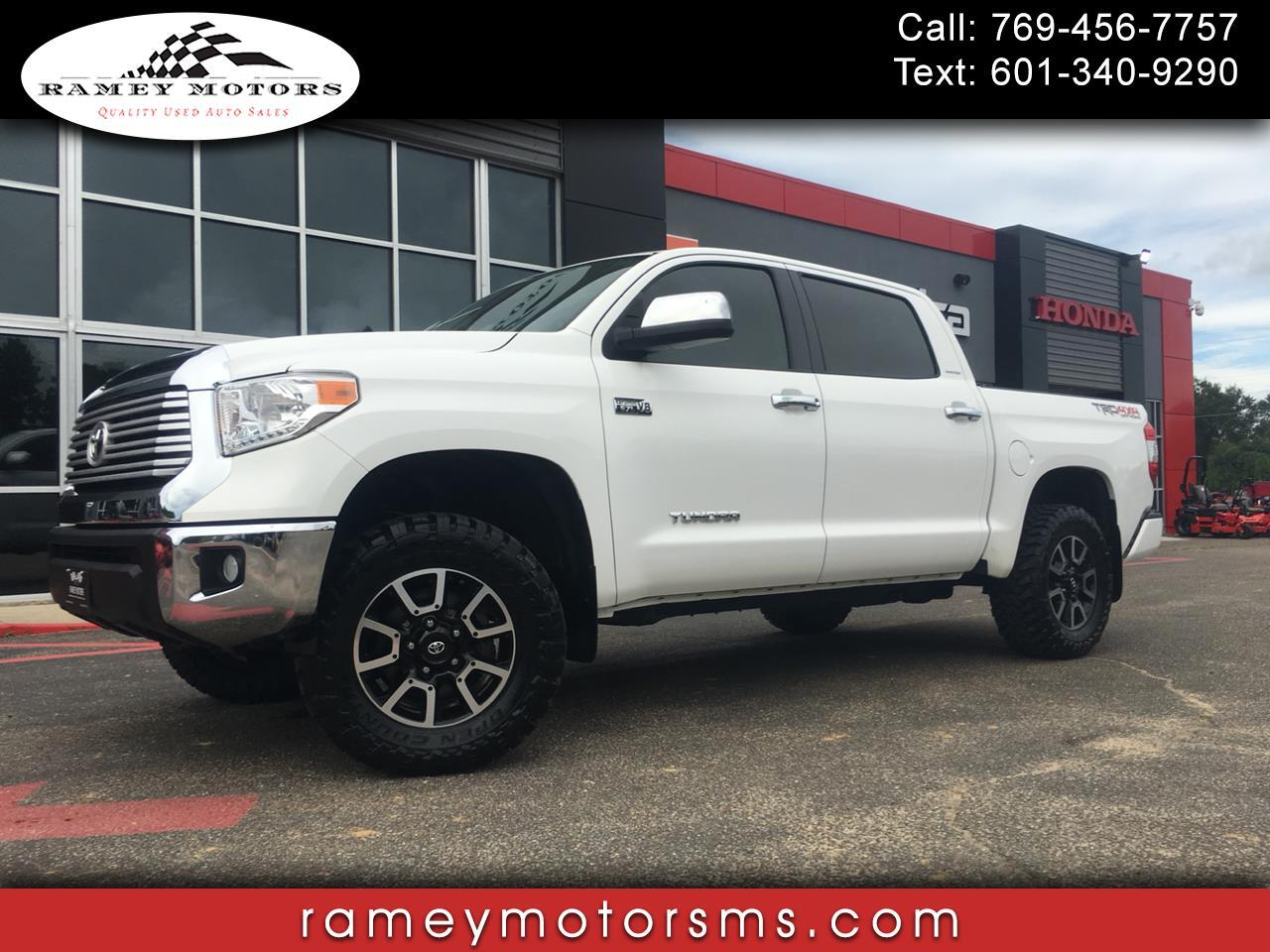 2016 Toyota Tundra 4WD Truck CREWMAX LIMITED